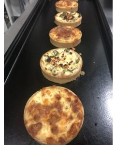 LORAINE (BACON & SWISS CHEESE) QUICHE